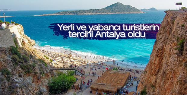 Turistlerin geceleme tercihi Antalya ve İstanbul oldu