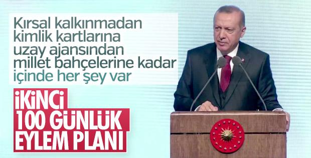Cumhurbaşkanı, 2'inci 100 Günlük Eylem Planı'nı açıkladı