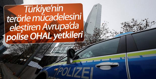 Almanya'da polise olağanüstü yetkiler