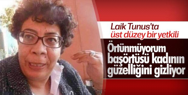 Tunus Başbakanı müsteşarı tesettüre girmeme kararı aldı