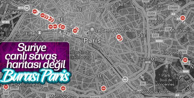 Sarı Yelekliler Paris'i felç etti