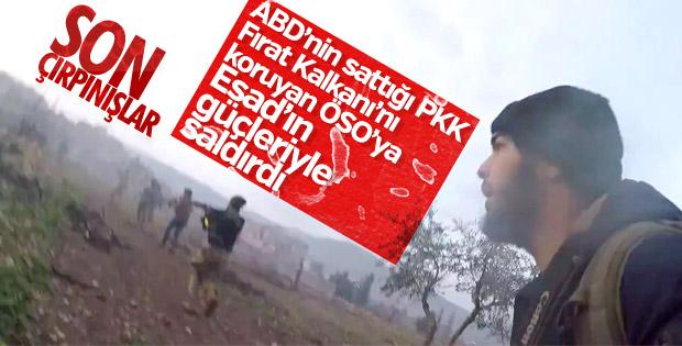 Suriye'de sıkışan PKK, Fırat Kalkanı'na saldırdı