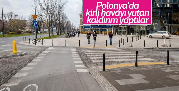 Polonya'da hava kirliliğini azaltan kaldırım