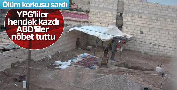 Rasulayn'da hendek ve tünel kazan teröristler