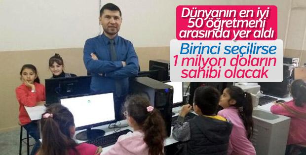 Okul müdürü, dünyanın en iyi 50 öğretmeni arasında