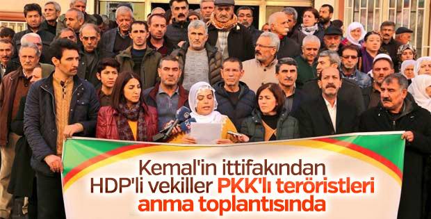 HDP, hendek operasyonlarında ölen teröristleri andı