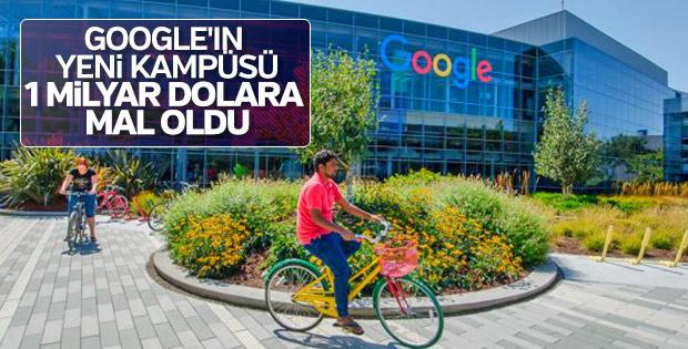 Google, 1 milyar dolarlık yeni kampüsünü kuruyor