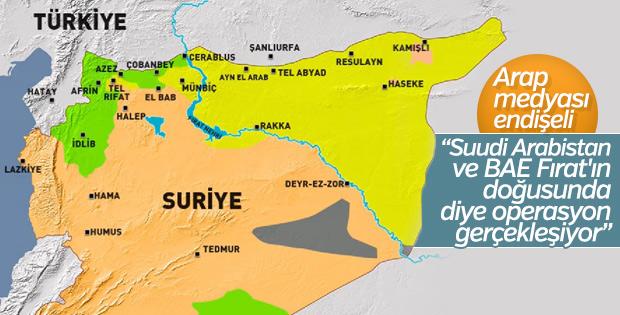 Arap medyasında Fırat'ın doğusuna operasyon
