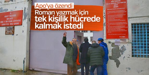 Sırrı Süreyya Önder'den tek kişilik hücre talebi