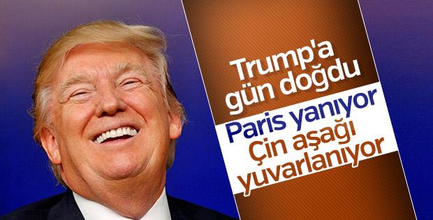 Trump'ın Fed eleştirisi: Paris yanıyor, Çin yuvarlanıyor