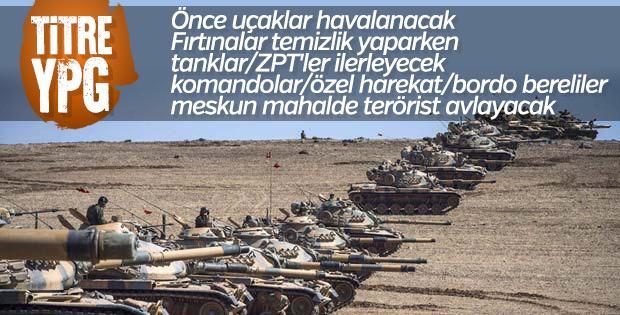 YPG'yi Fırat'ın doğusundan silecek operasyonda sona doğru