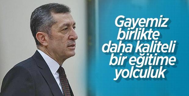 Bakan Ziya Selçuk: Hedefimiz kaliteli eğitim