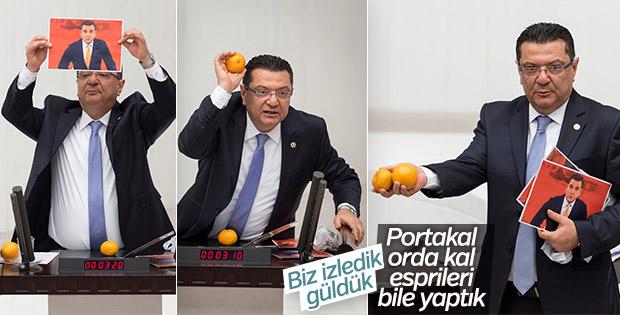 CHP'li Göker: Portakal'ı size yedirtmeyiz