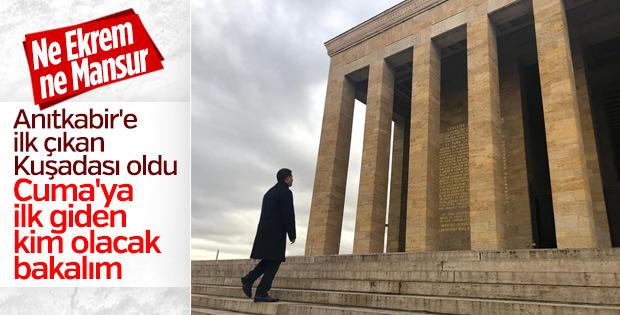 Ömer Günel, Anıtkabir'i ziyaret etti