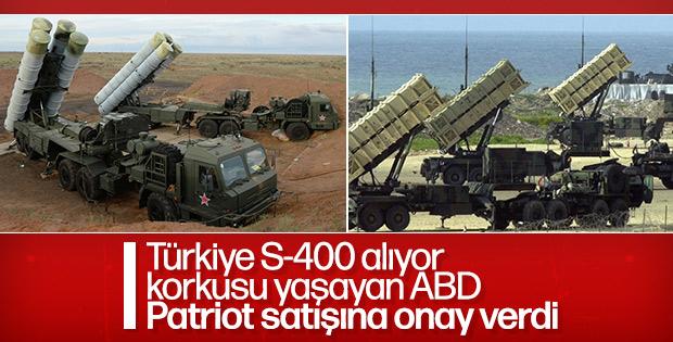 ABD Türkiye'ye Patriot satışı için onay verdi
