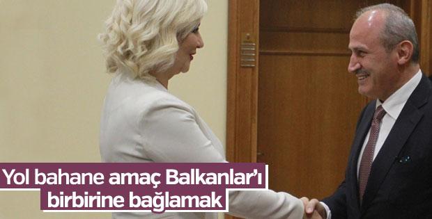 Türkiye ile Sırbistan arasında yol yapımı anlaşması