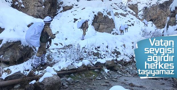 Van'da PKK'nın kış üslenmesine operasyon