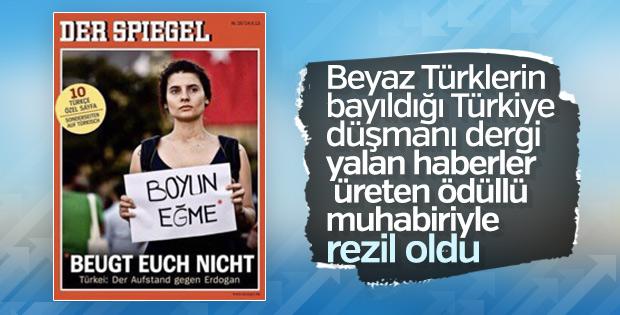 Der Spiegel'in Türkiye ile ilgili haberleri yalan çıktı