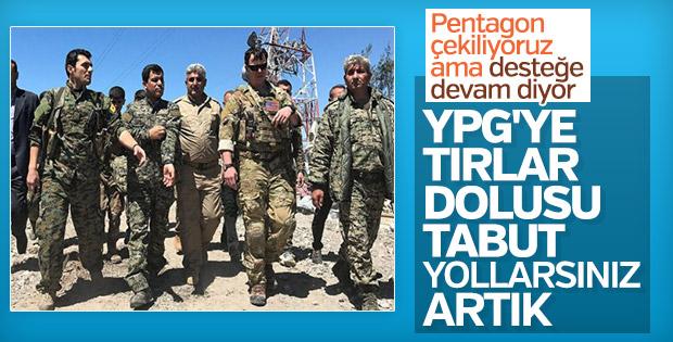 Pentagon'dan Suriye açıklaması: Gidiyoruz
