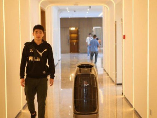 Çin'de yapay zeka ile donatılmış ilk otel açıldı