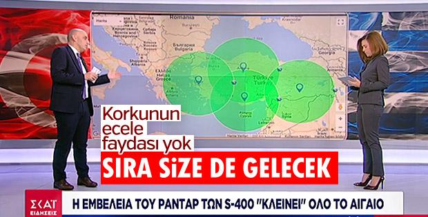 Yunanistan'da korku yayını: Türkiye S-400 alıyor
