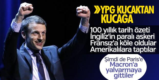 YPG şimdi de Fransızlara yalvarıyor