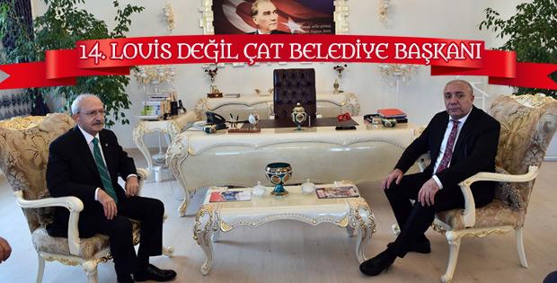 CHP'li Çat Belediye Başkanı'nın şaşaalı odası