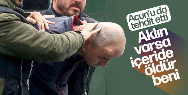 Murat Özdemir'den Acun Ilıcalı'ya tehdit