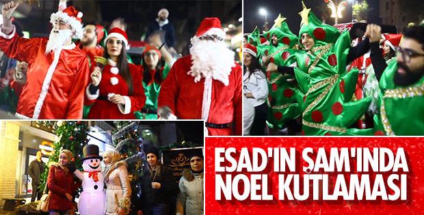 Şam'da yeni yıl coşkusu