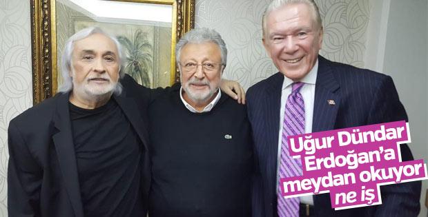 Uğur Dündar, Metin Akpınar ve Müjdat Gezen'e destek çıktı