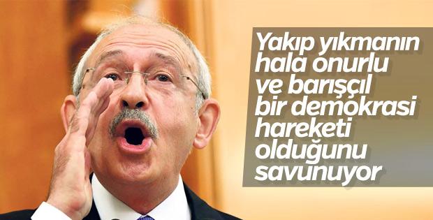 Kılıçdaroğlu'nun sosyal medyadan Gezi mesajı