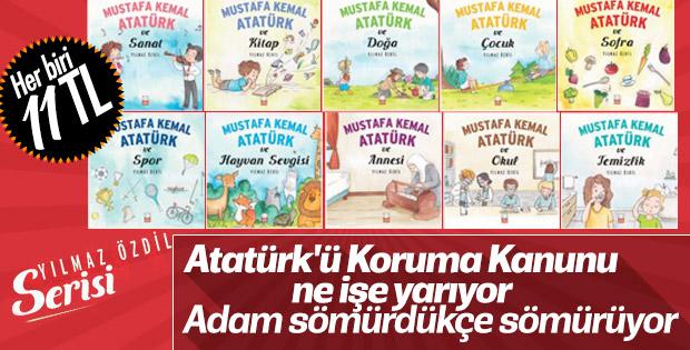 Yılmaz Özdil'in Atatürk üzerinden çıkardığı kitap serisi