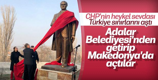 Makedonya'ya Atatürk anıtı