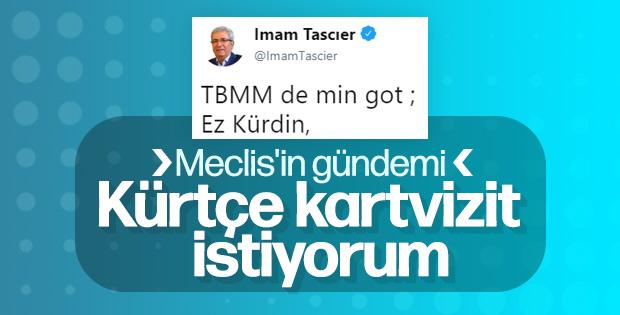 HDP'li İmam Taşçıer, Meclis'te Kürtçe konuştu