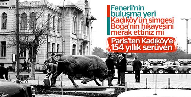 Kadıköy'ün simgesi Boğa Heykeli'nin tarihi serüveni