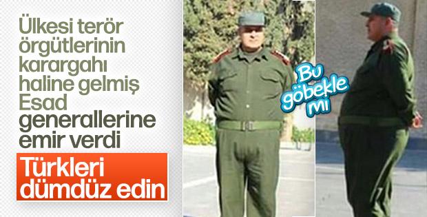 Esad'dan Türkiye emri: Onları dümdüz edin
