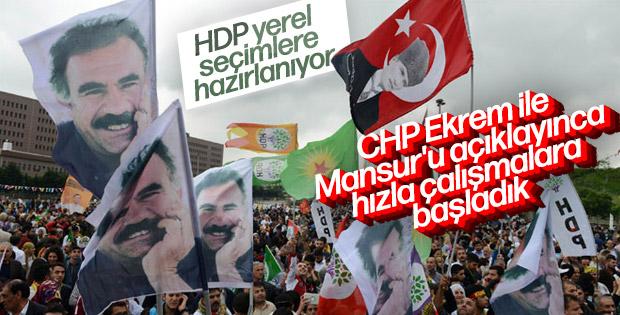 HDP'nin büyükşehirlerde CHP'yi destekleme planı