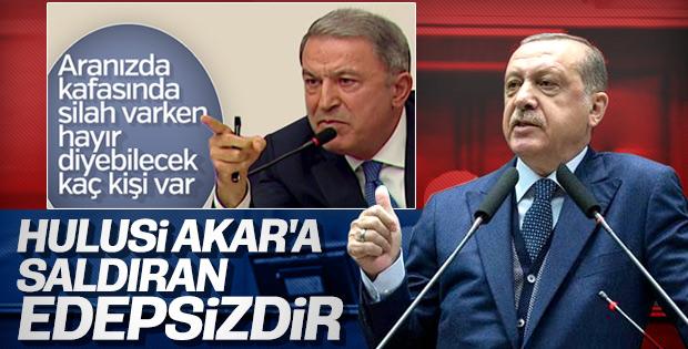 Cumhurbaşkanı Erdoğan'dan Özgür Özel'e: Edep yoksunu