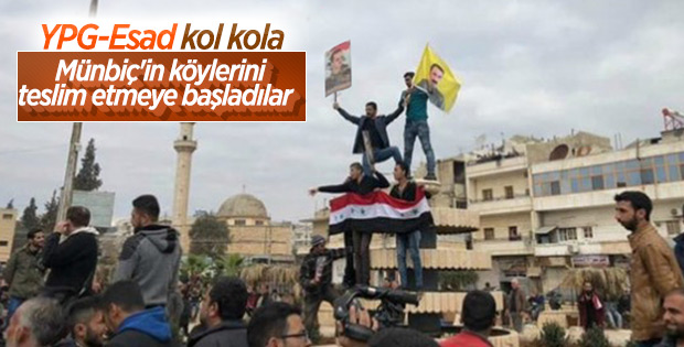 Esad güçleri Arimah'a girdi