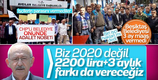 Kılıçdaroğlu: Belediyelerde hiçbir işçiyi kovmayacağız