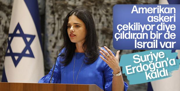 İsrailli bakan: Suriye'den çekilme Erdoğan'ı güçlendirir