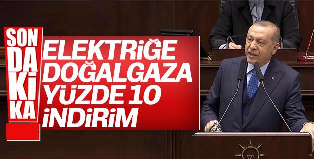 Cumhurbaşkanı Erdoğan'dan enerji müjdesi