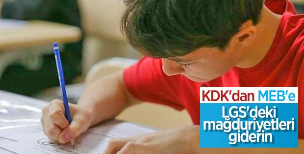 KDK'dan Milli Eğitim Bakanlığı'na tavsiye kararı