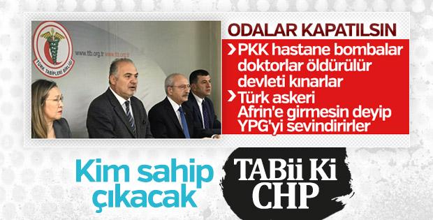 Kılıçdaroğlu, Tabipler Birliği'ne destek ziyaretinde