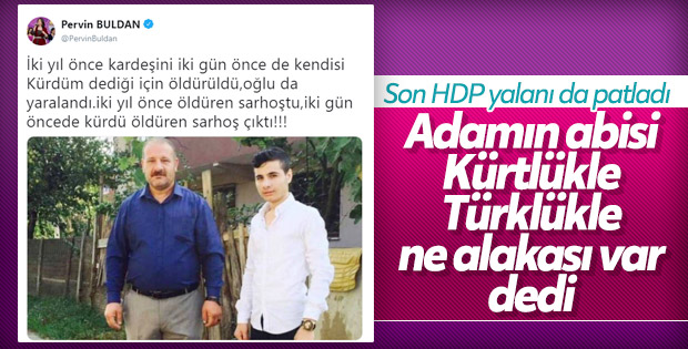 HDP'nin Türk-Kürt kavgası yalanı