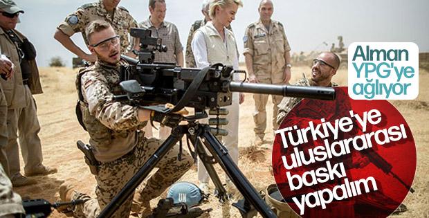 Almanya'da YPG endişesi