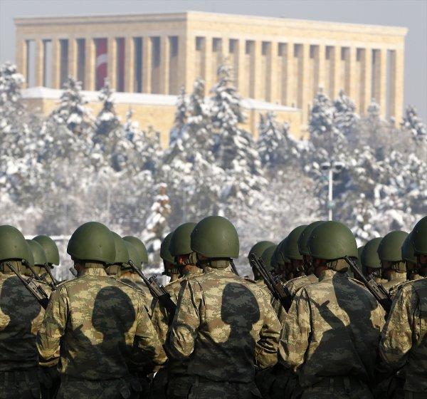 Anıtkabir etrafında Büyük Atatürk Koşusu