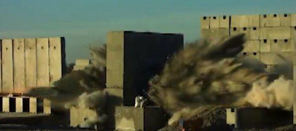 Ses hızını aşan HABRAS çelik kaplı betonu deldi
