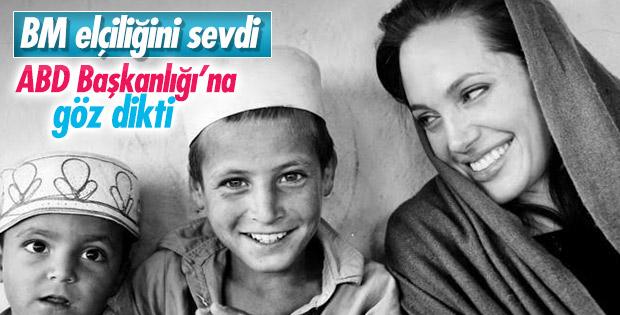 Angelina Jolie: ABD ihtiyaç duyarsa başkan adayı olurum