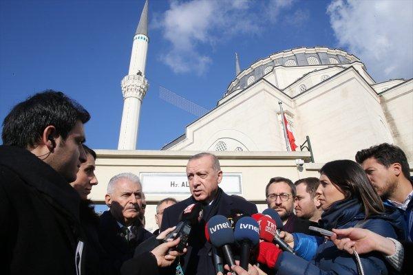 Cumhurbaşkanı Erdoğan: Hedefimiz terörü yok etmek
